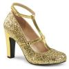 QUEEN-01 Gold Glitter